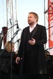 Russische populaire acteur, Operazanger Boris pinkhasovich, bariton, ster van het Mikhailovsky-theater, Rusland op het open stadi Stock Afbeeldingen