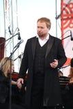 Russische populaire acteur, Operazanger Boris pinkhasovich, bariton, ster van het Mikhailovsky-theater, Rusland op het open stadi Royalty-vrije Stock Afbeeldingen