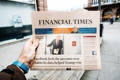 Russische Präsidentschaftswahl ab 2018 mit dem Sieger Vladimi Lizenzfreie Stockfotos