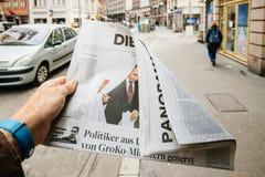 Russische Präsidentschaftswahl Die Welts ab 2018 mit dem winne Stockfotos