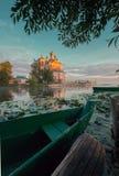 Russische provinciale stad Pereslavl Zalessky Stock Afbeeldingen