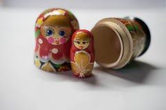Russische Puppen - Andenken von Russland lizenzfreie stockfotografie