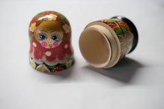 Russische Puppen - Andenken von Russland stockbild