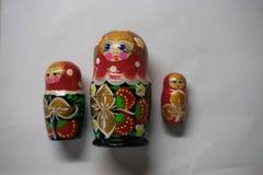 Russische Puppen - Andenken von Russland lizenzfreies stockbild