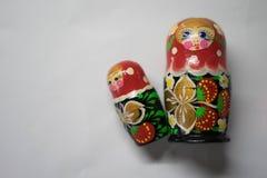 Russische Puppen sind Andenken von Russland stockbilder