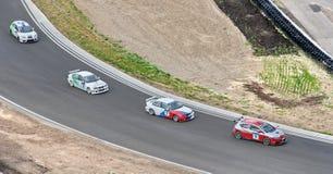 Russische Reisen-Auto-Meisterschaft Lizenzfreie Stockbilder
