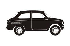Russische retro delen car Royalty-vrije Stock Afbeeldingen