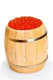 Russische rode kaviaar Royalty-vrije Stock Afbeeldingen
