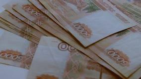Russische roebel stock video
