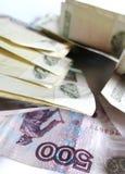 Russische roebels Royalty-vrije Stock Afbeelding