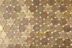 Russische 10 roebelsmuntstukken Stock Foto