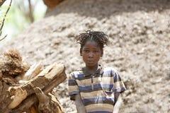 Afrikanische junge Frau Lizenzfreie Stockbilder