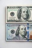 Russische Rubel und amerikanische Dollar Lizenzfreies Stockbild