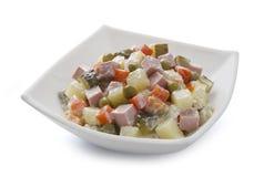 Russische salade Stock Foto's