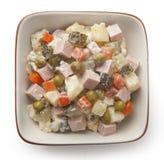 Russische salade Royalty-vrije Stock Fotografie