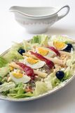Russische salade Royalty-vrije Stock Foto