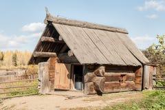 Russische Sauna von den großen Klotz Stockfotos