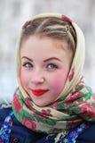 Russische Schönheit Stockfotografie