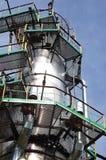 Russische Schmieröl- u. Gasindustrie. Die Raffinierungs-Fabrik Lizenzfreies Stockfoto