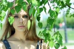 Russische schoonheid Royalty-vrije Stock Afbeeldingen