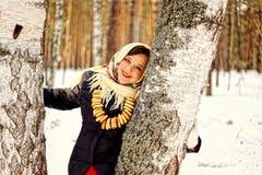 Russische schoonheid. Royalty-vrije Stock Afbeeldingen