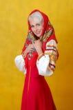 Russische schoonheid Stock Foto's