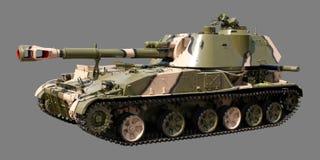 Russische selbstangetriebene Artillerie Stockbilder