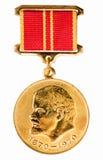 Russische (sowjetische) Medaille Lizenzfreies Stockbild