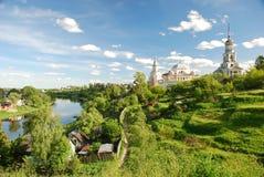 Russische stad Royalty-vrije Stock Fotografie