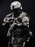 Russische strijdkrachten Stock Fotografie