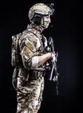 Russische strijdkrachten Royalty-vrije Stock Foto