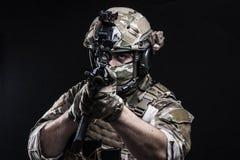 Russische strijdkrachten Stock Foto's