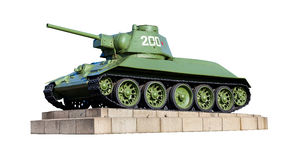 Russische tank Royalty-vrije Stock Foto
