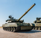 Russische tank t-72 Royalty-vrije Stock Fotografie