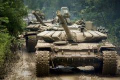 Russische tank t-90 Royalty-vrije Stock Afbeelding