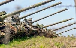 Russische tank t-90 Royalty-vrije Stock Foto