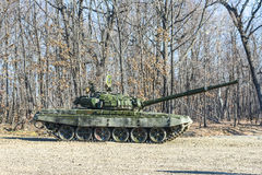 Russische tank t-72 Royalty-vrije Stock Foto's