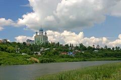 Russische tempel Royalty-vrije Stock Afbeeldingen