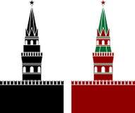 Russische Toren Royalty-vrije Stock Afbeeldingen