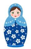 Russische Tradition matryoshka Puppen stock abbildung
