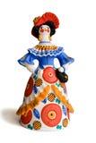 Russische traditionele stuk speelgoed dame Royalty-vrije Stock Foto's