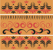 Russische traditionelle Muster Stockbilder