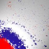 Russische Trikolore Stockfotografie