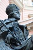Russische Tsaar Pavel I Stock Afbeelding