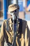Russische Uniform der Verteidigung für chemische Angriffe im wwii Lizenzfreies Stockfoto