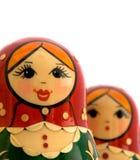 Russische Verschachtelungs-Puppen Stockfoto
