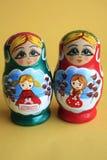 Russische Verschachtelungs-Puppen Lizenzfreies Stockbild