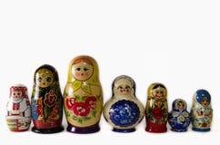Russische Verschachtelungs-Puppen Lizenzfreie Stockfotografie