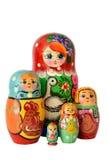 Russische Verschachtelungs-Puppen Lizenzfreies Stockfoto