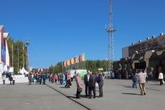 RUSSISCHE VERTEIDIGUNGS-AUSSTELLUNG 2012 Lizenzfreies Stockfoto